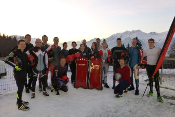 Army Skeleton Champs 2013